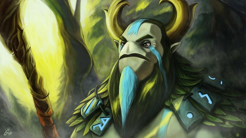 Nature Prophet, Penyihir Hutan Dengan Kemampuan Hebat Dota 2