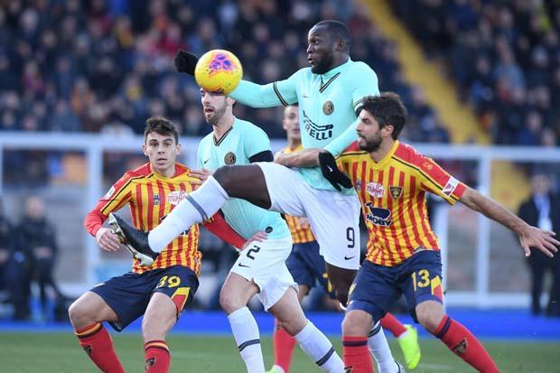 Ditahan Lecce Dengan Skor Imbang 1-1, Inter Milan Gagal Menjadi Pemuncak Klasemen