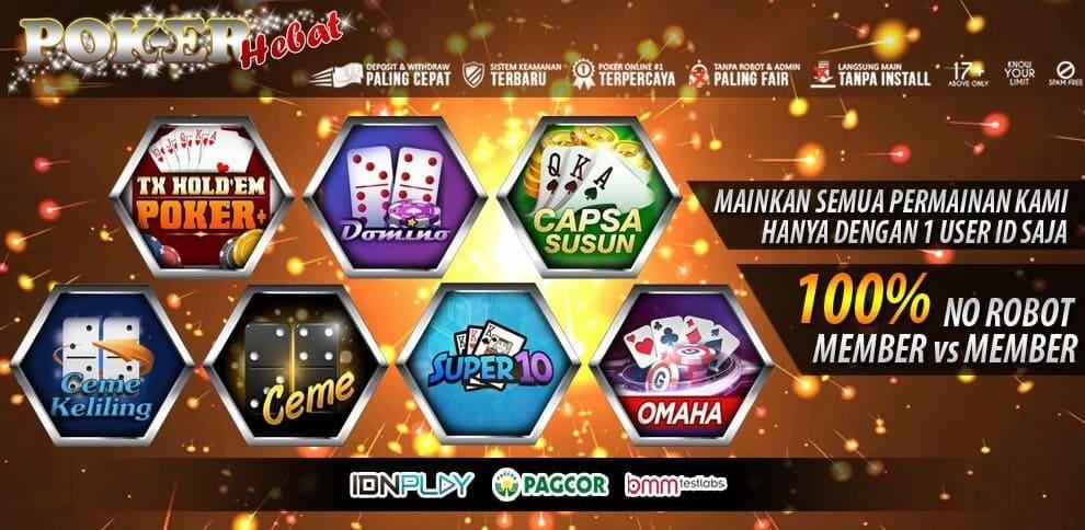 Pokerhebat Situs Resmi Idn Poker Paling Sering Memberikan Cuan